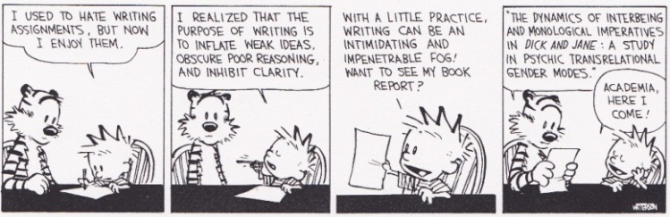 Calvin and Hobbes - Postmodernism